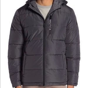 Nautica — Quilted Hooded Parka